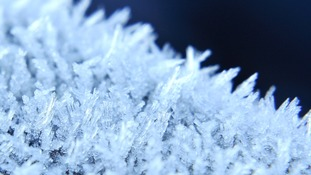 Severe frost with risk of ice overnight