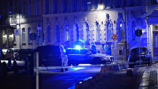 Three arrests after synagogue in Sweden 'firebombed' by masked attackers