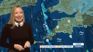 Your latest Westcountry weather with Philippa Drew