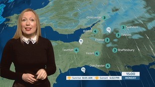 Your latest weather in the West with Philippa Drew