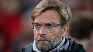 Liverpool manager Jurgen Klopp angered by penalty decision as Everton take point from Merseyside derby