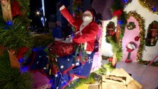 Hundreds turn out for Battle of Flowers Christmas Parade