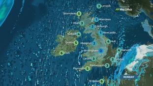 Further light snow across many central and southern areas.