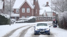 Drivers warned of 'widespread slippery, icy conditions'