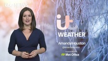 The latest weather forecast with Amanda Houston