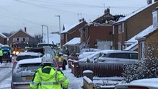 Two injured in Leicestershire house explosion