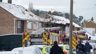 Six houses have been damaged in total