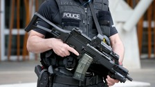 Increase in armed officers on the streets over festive period