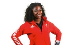 Kadeena Cox: in the England team