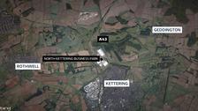 Fatal crash near Kettering