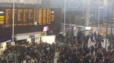 Major rail disruption in and out of Waterloo