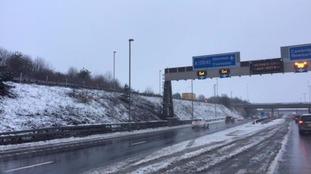 M11 Essex north bound on Sunday