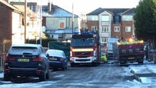 Three children killed in 'suspicious' house fire