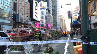 New York: Injured suspect held after attempted terror attack at Port Authority Bus Terminal