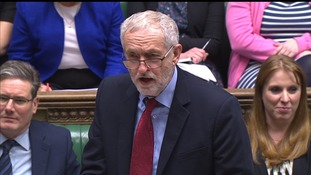 Jeremy Corbyn said the Government's approach to Brexit talks was 'shambolic'.