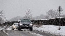 Snow and ice warnings as UK braces for coldest night of year