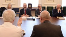 The ministers at their last meeting in London in October