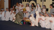 Children in Alderney perform annual Christmas Nativity