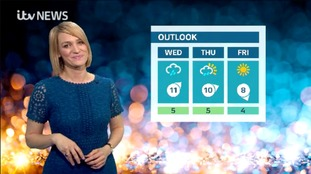 Weather with Kerrie - Frosty & icy but mainly dry