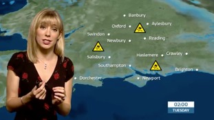 Holly's forecast for tonight and tomorrow in west