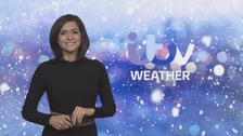 Temperatures sliding to -15C in places