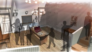 Artist's impression of a new Victorian operating theatre installation at the Thackray Medical Museum