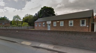 The incident happened outside a church hall