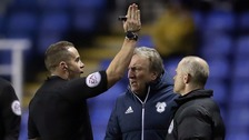 Neil Warnock criticises officials after dismissal