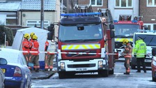 Five people questioned after three children die in Salford house fire