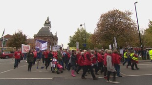 The unit's been at the centre of controversy since the decision was taken to close it overnight last year because of a shortage of doctors.