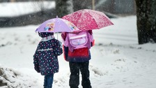 Thousands of schools are closed in the Midlands for a second day