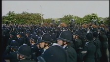 The so called 'Battle of Orgreave' took place in 1984