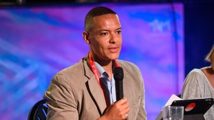 Clive Lewis during the Labour Party conference in Brighton.