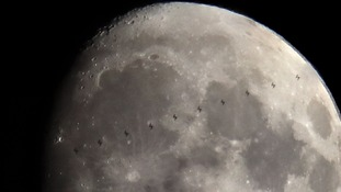 Photographer 'over the moon' after capturing snaps of International Space Station