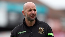 Director of rugby Jim Mallinder departs from Northampton Saints