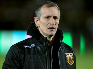 Alan Dickens will oversee rugby and coaching matters on temporary basis
