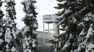 Timet UK metal plant in Birmingham