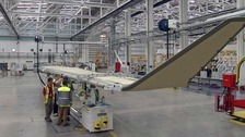 Business Secretary affirms support for Bombardier