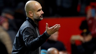 Guardiola defends Man City's celebrations at Old Trafford