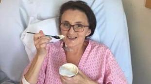 Joanne underwent a marathon 18-hour operation.