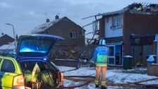 Woman dies after Leicestershire gas explosion