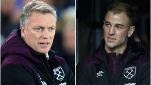 Moyes: Joe Hart's England spot not my concern but he will play for West Ham again