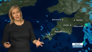 The latest weather forecast for the South West