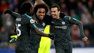 Chelsea get back to winning ways by beating gritty Huddersfield at the John Smith's stadium