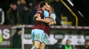 Burnley move into the top four after late win over Stoke City