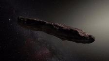 Interstellar asteroid scanned for alien technology
