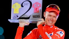 Froome investigated after failed urine test at Vuelta