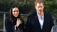 Meghan Markle (left) and Prince Harry (right) will spend Christmas at Sandringham.
