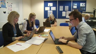 A team of civilians are investigating cybercrimes in Suffolk.