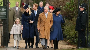 The royal family traditionally spend Christmas at Sandringham.